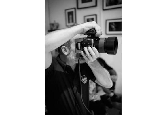 SHOOTING PHOTOS - BACKSTAGE