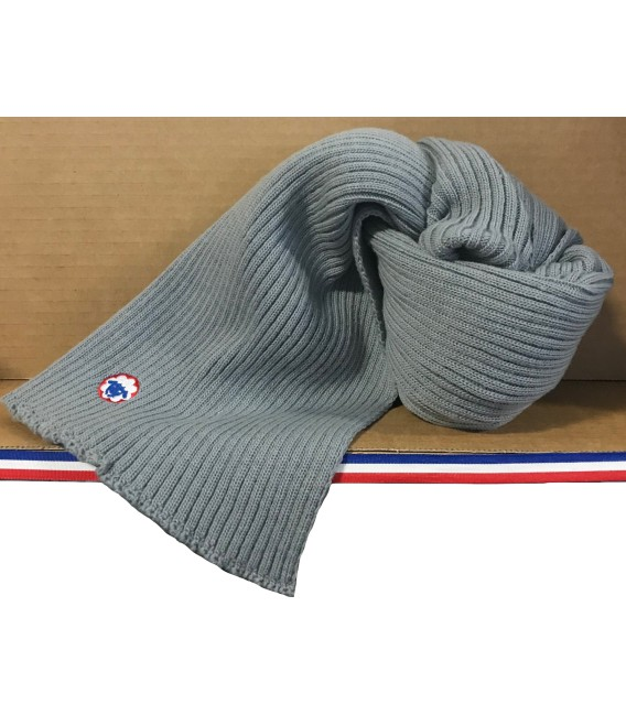 ECHARPE GRIS MADE IN FRANCE