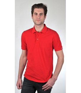 "POLO ROUGE HOMME ""ALBUS"""
