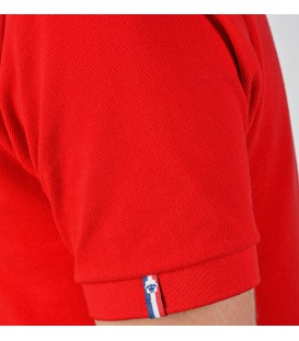 """POLO ROUGE HOMME """"ALBUS"""""""